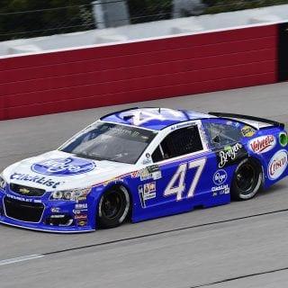 2017 AJ Allmendinger NASCAR throwback photos