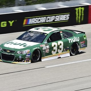 2017 Jeffrey Earnhardt Darlington Raceway NASCAR Cup Series throwback paint scheme