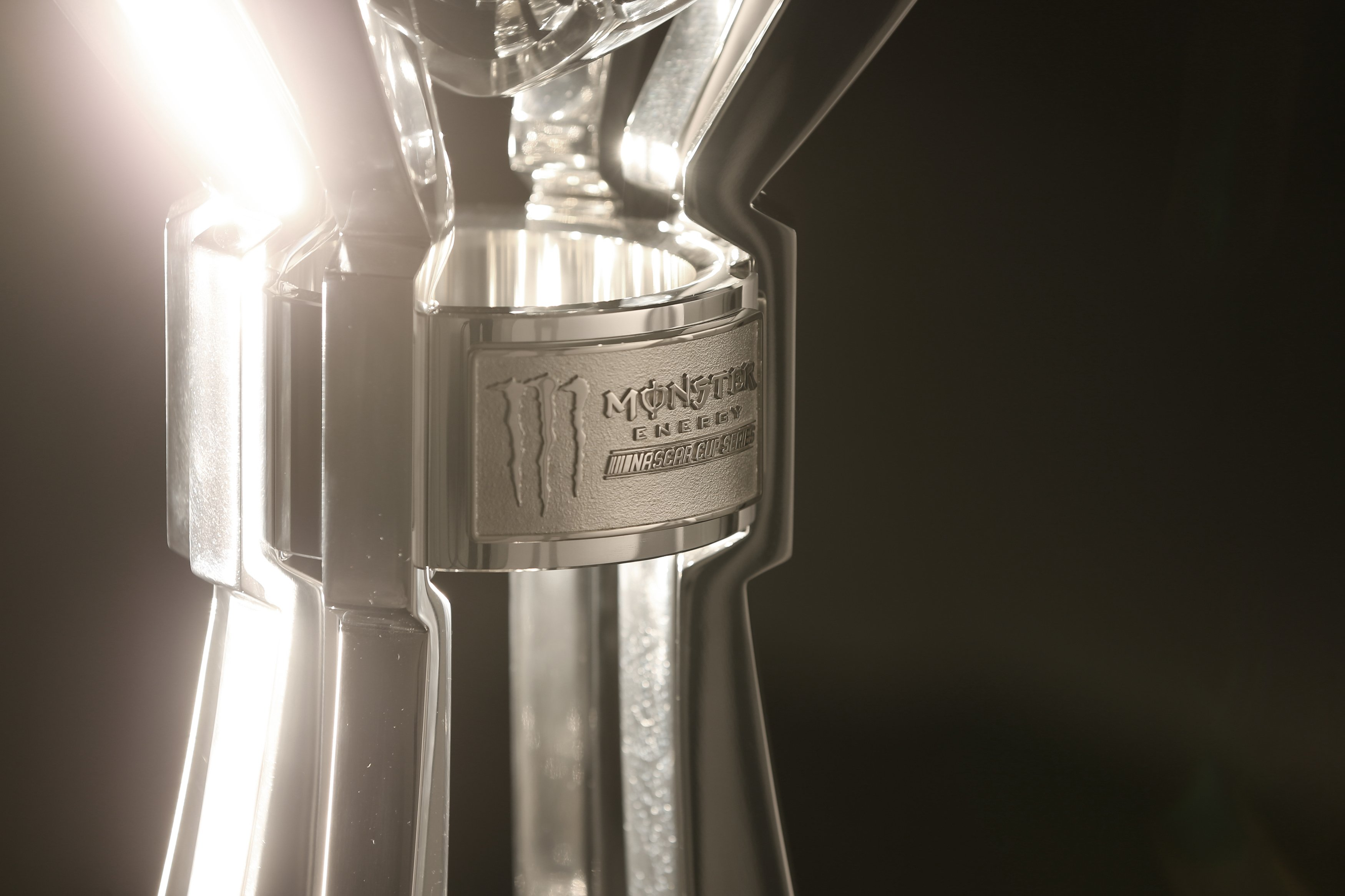 2017 Monster Energy NASCAR Cup Series trophy photo