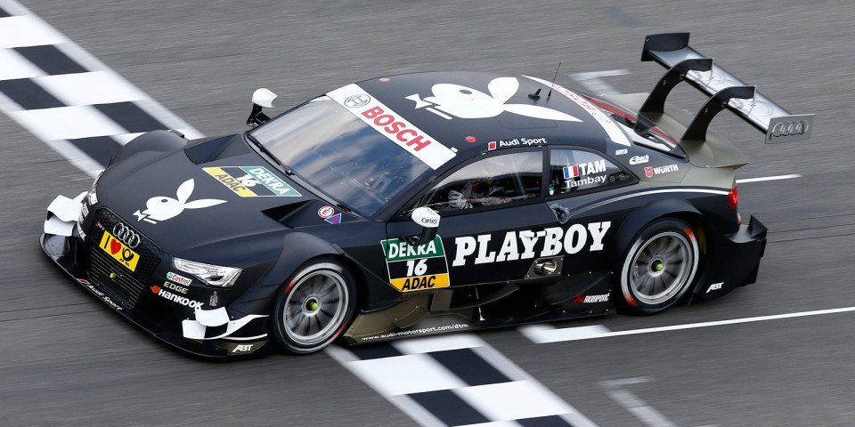 Adrien Tambay Playboy Audi RS 5 DTM - Audi 2014