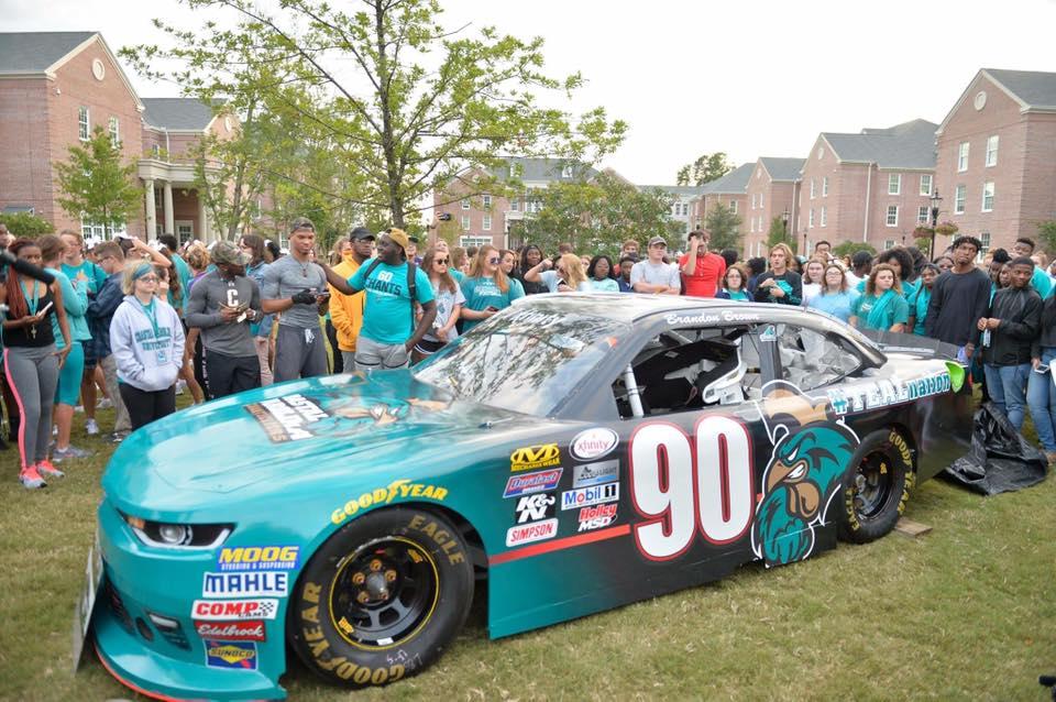 Brandon Brown 2017 Darlington raceway throwback