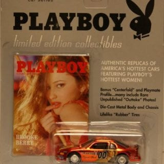 Brooke Berry playboy diecast car