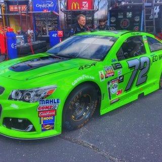 Cole Whitt Darlington Raceway Throwback