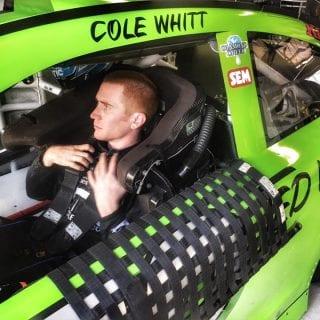 Cole Whitt Darlington throwback paint scheme