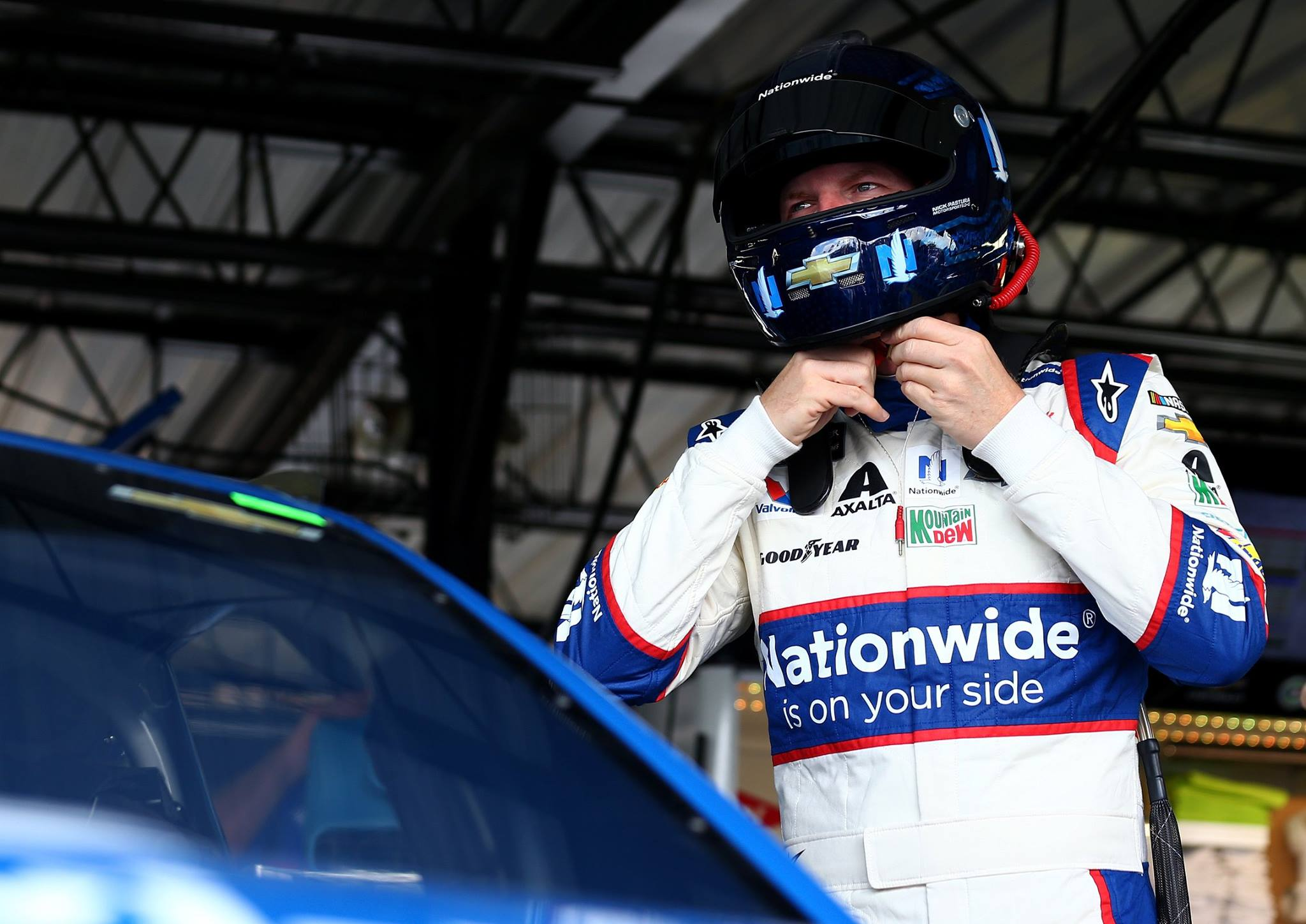 Dale Earnhardt Jr crew chief suspension after Darlington Raceway