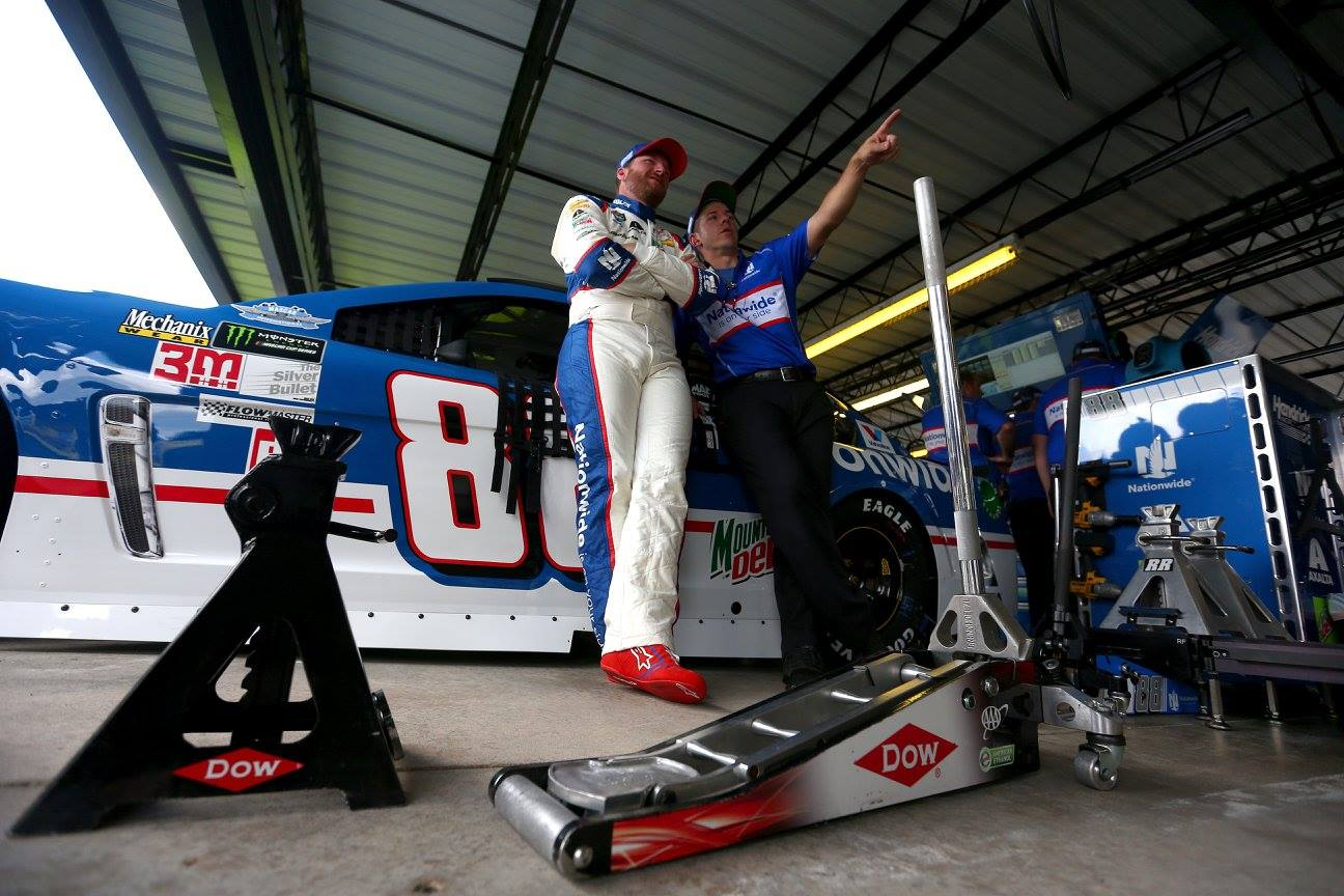 Darlington NASCAR Penalties - Dale Earnhardt Jr crew chief suspended