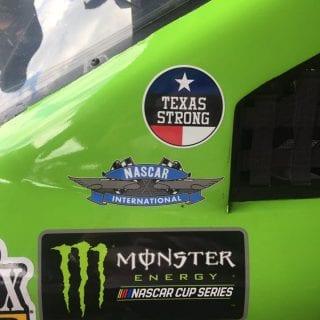 Darlington Texas Strong Decals