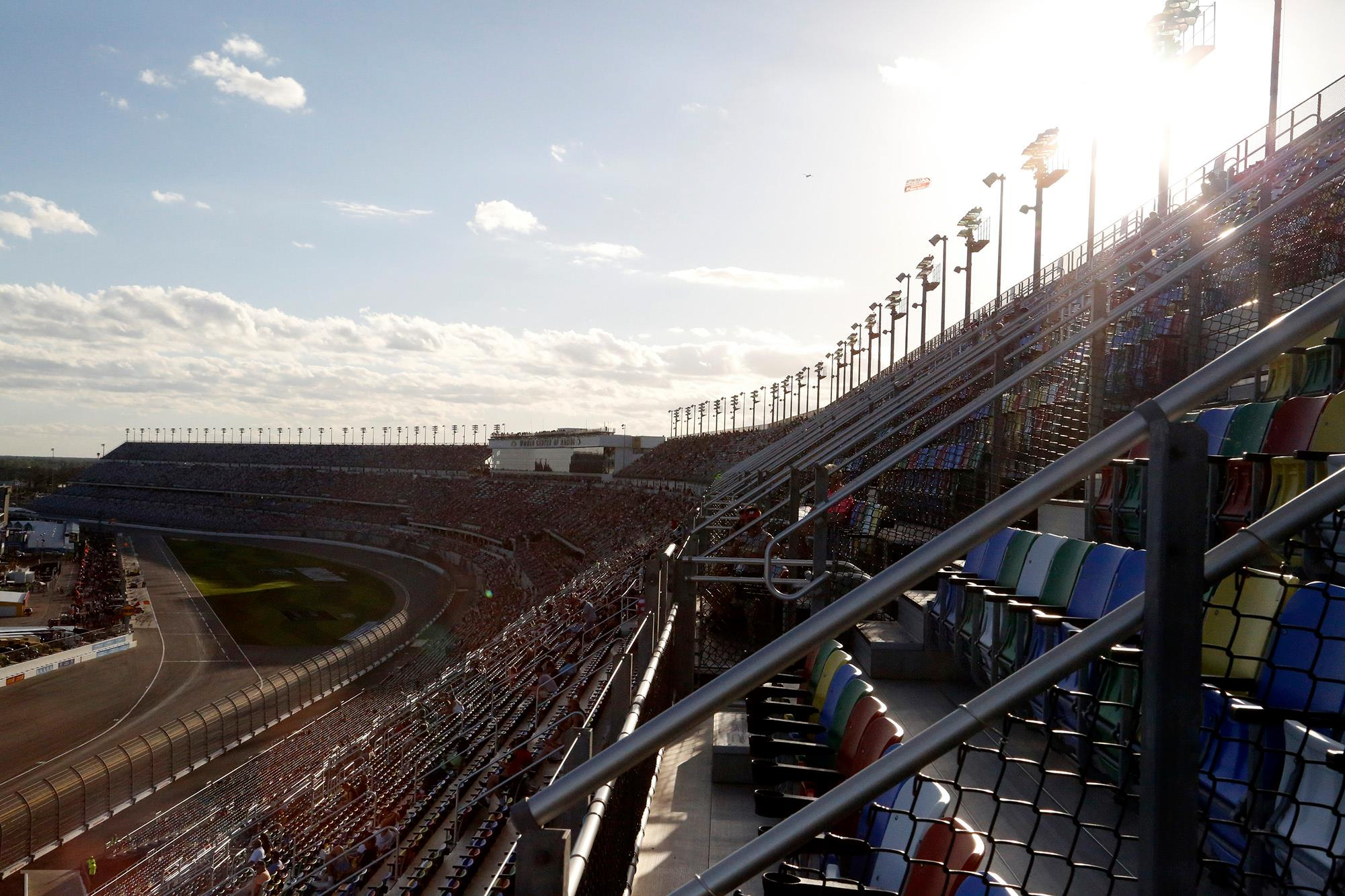 Daytona International Speedway Hurricane Irma damage update
