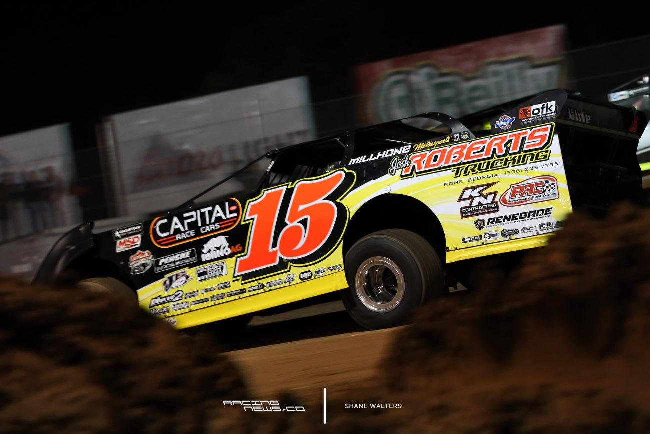 Dirt Late Model Aerodynamics - Steve Francis Racing