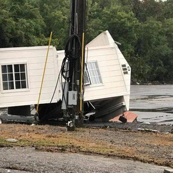 Fairgrounds Speedway Nashville Flood Damage