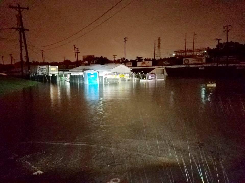 Fairgrounds Speedway Nashville Flood Photos