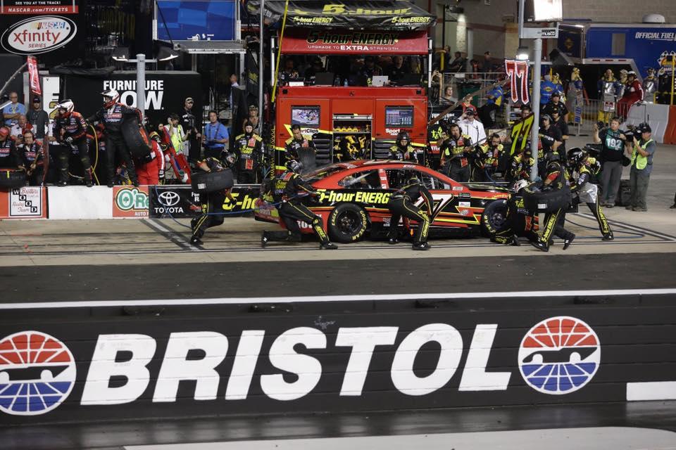 Furniture Row Racing #77 in 2018