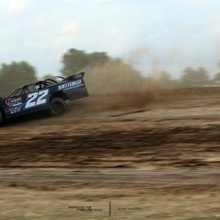 Gregg Satterlee at Muskingum County Speedway