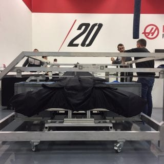 Haas F1 Garage