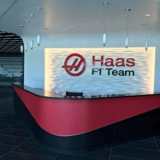 Haas F1 Office