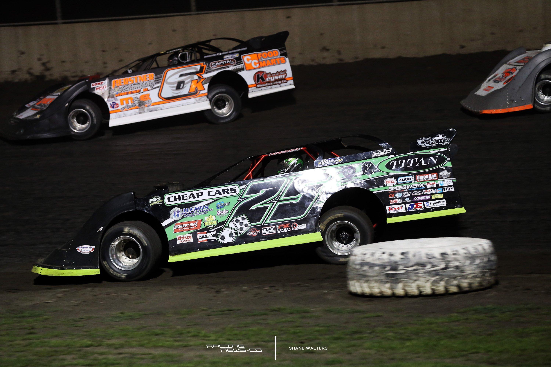 Jason Feger at Tri-City Speedway 2931