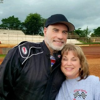 John Travolta is now a dirt track racer