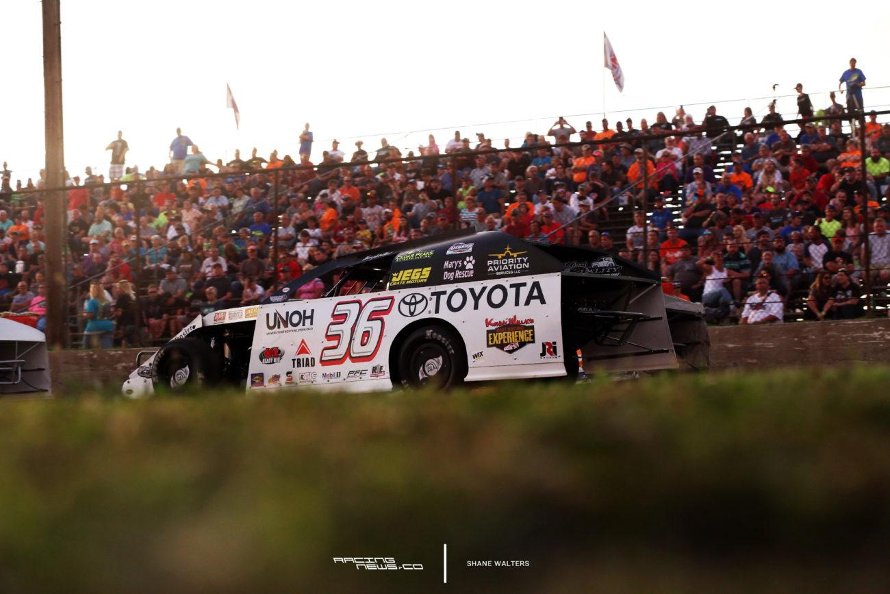 Kenny Wallace Dirt Racing Car