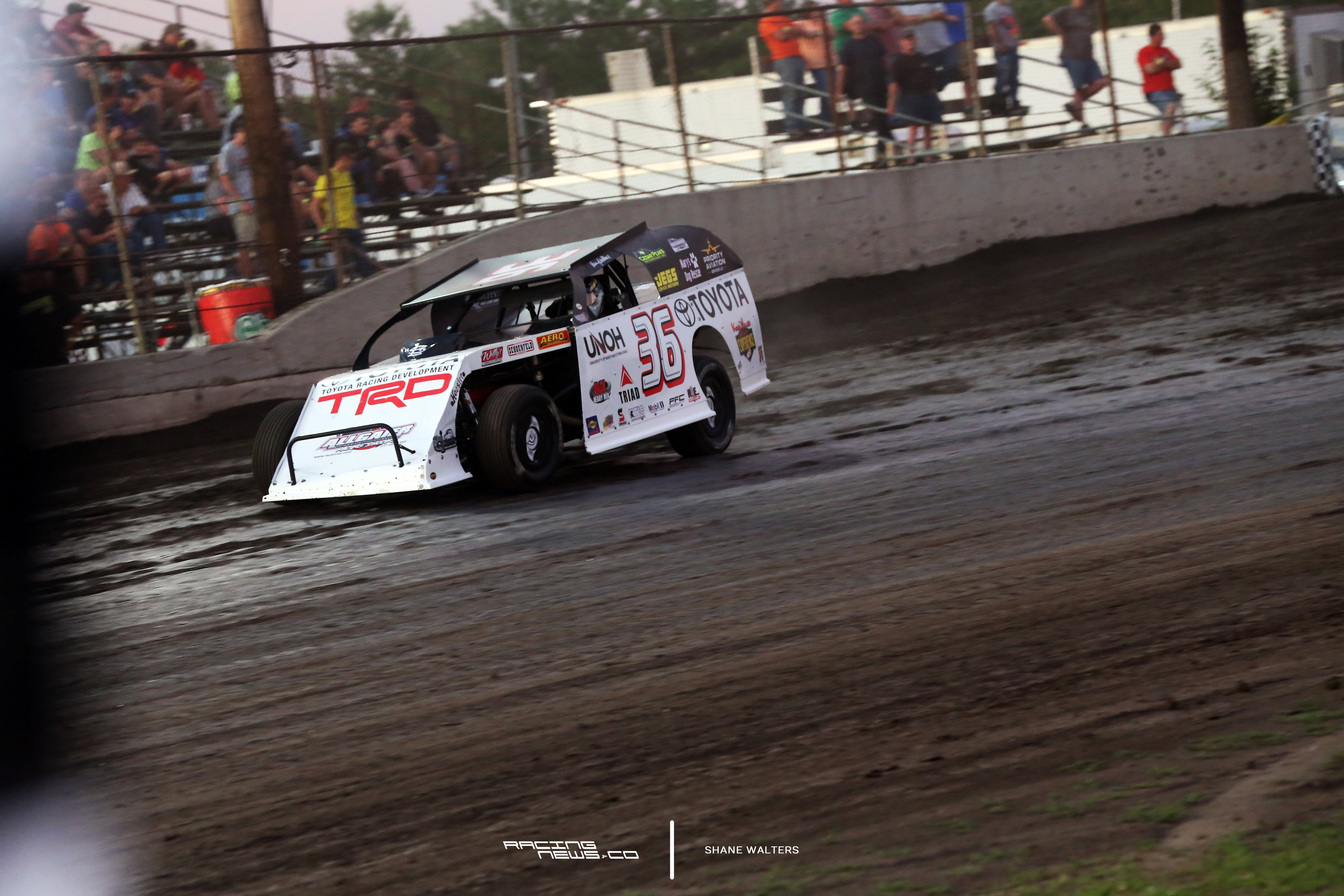 Kenny Wallace dirt racing