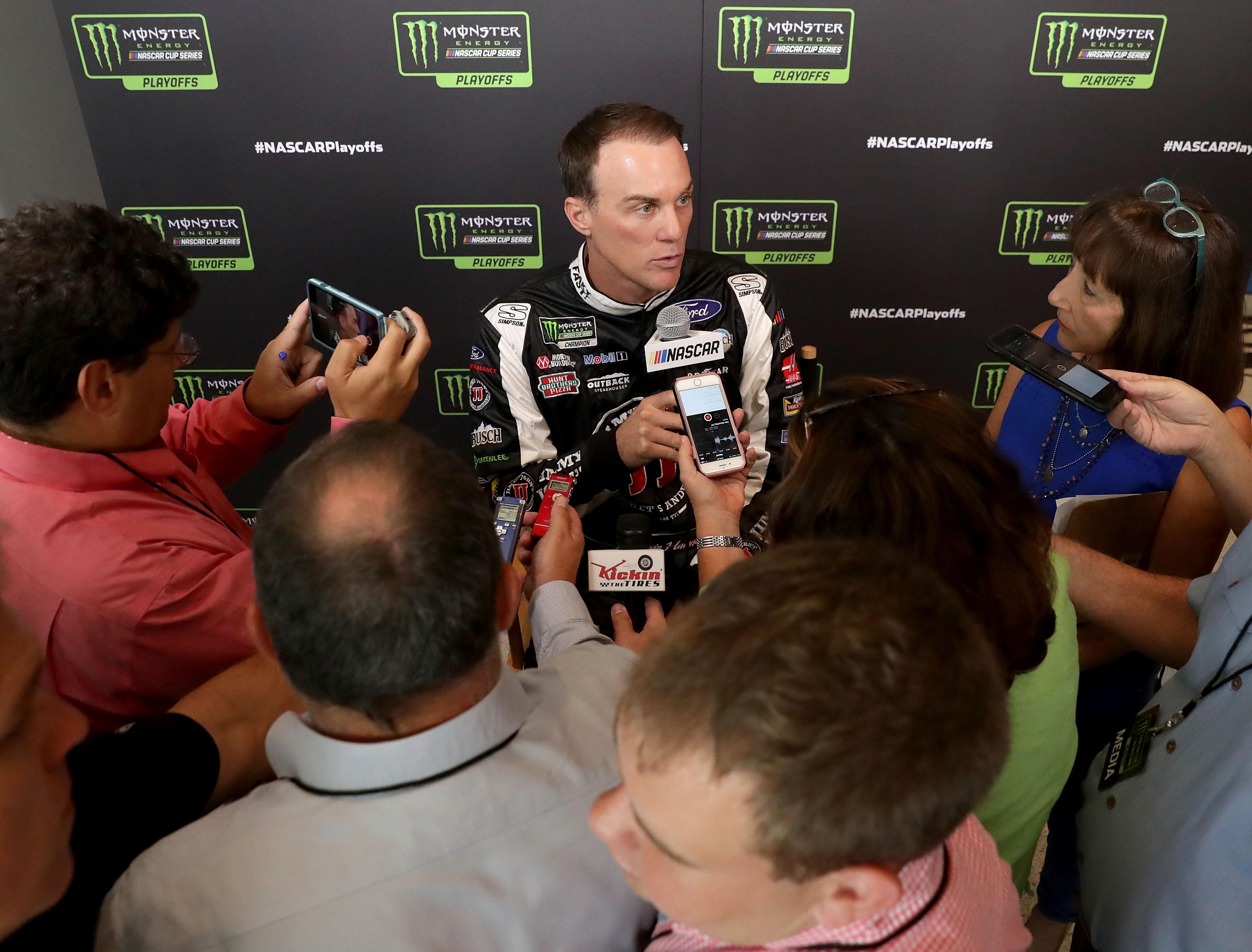 Kevin Harvick comments on NASCAR ambulance drivers