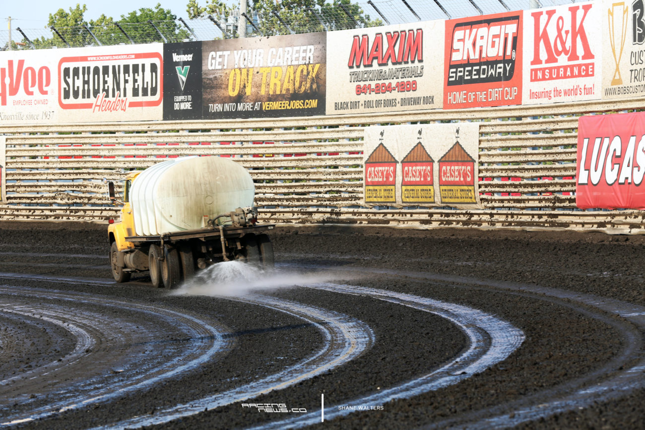 Knoxville Raceway Water Truck 5147