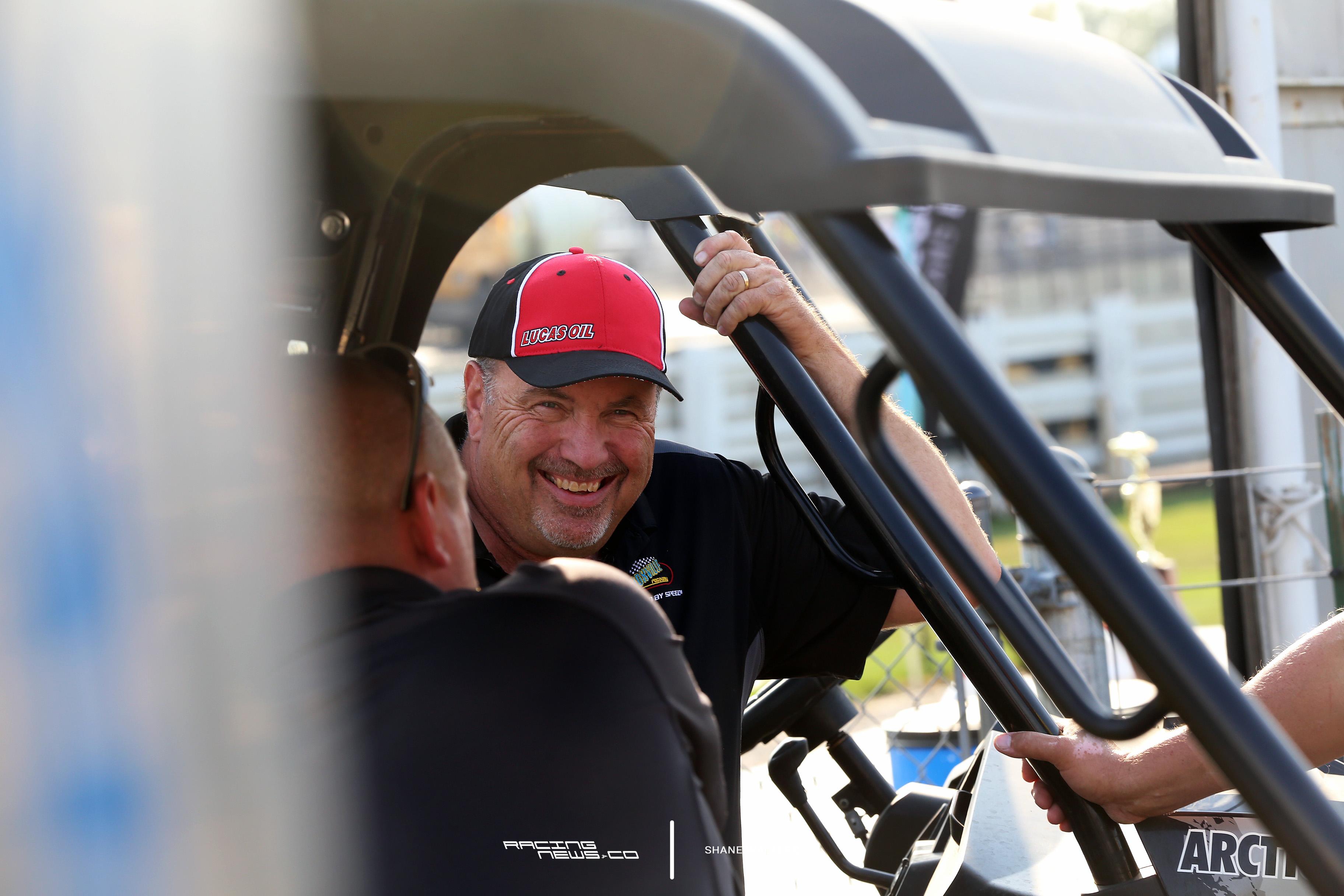 Knoxville Raceway promoter John McCoy5163