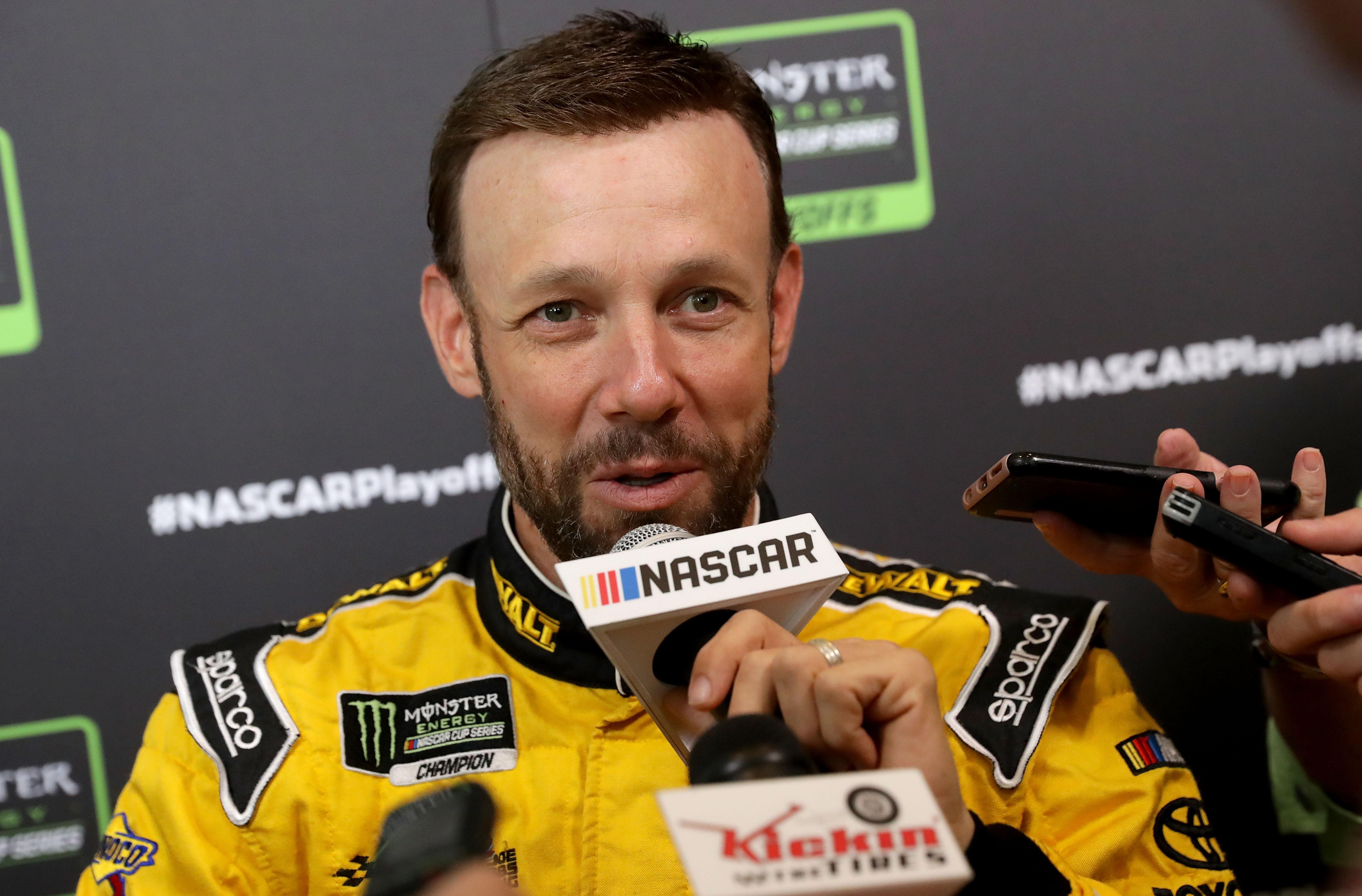 Matt Kenseth comments on NASCAR ambulances