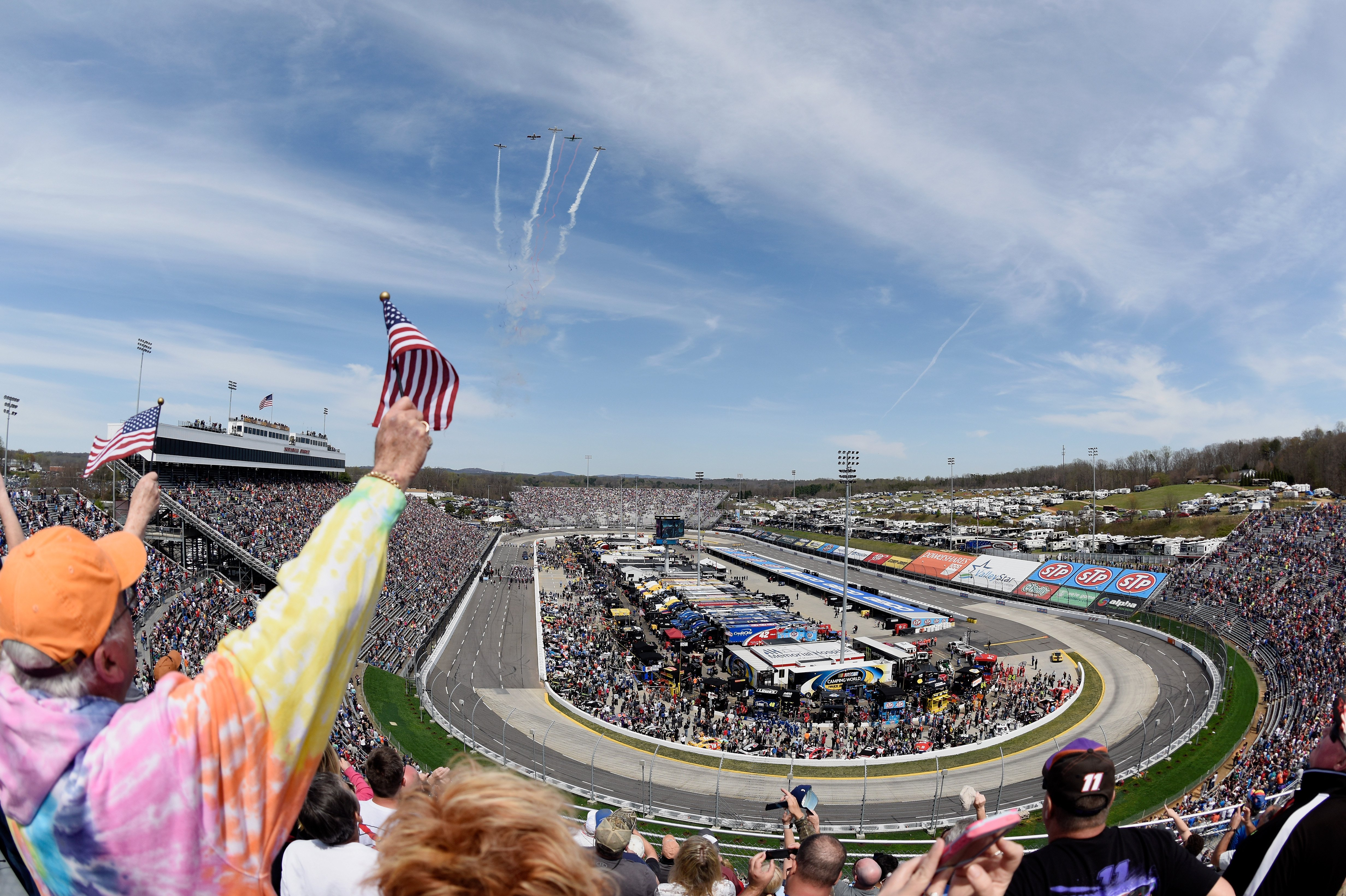 NASCAR National Anthem rules
