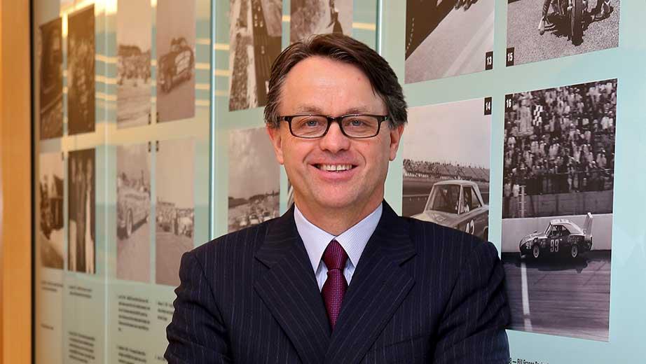NASCAR President Brent Dewar