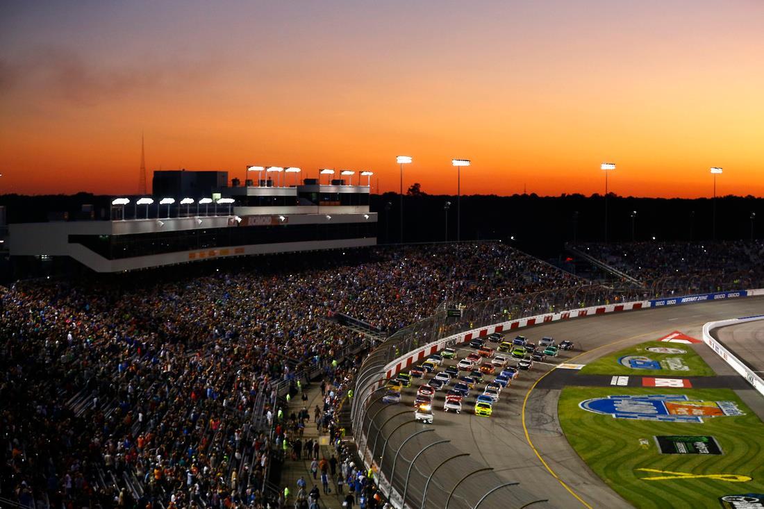 NASCAR Richmond Raceway Penalties