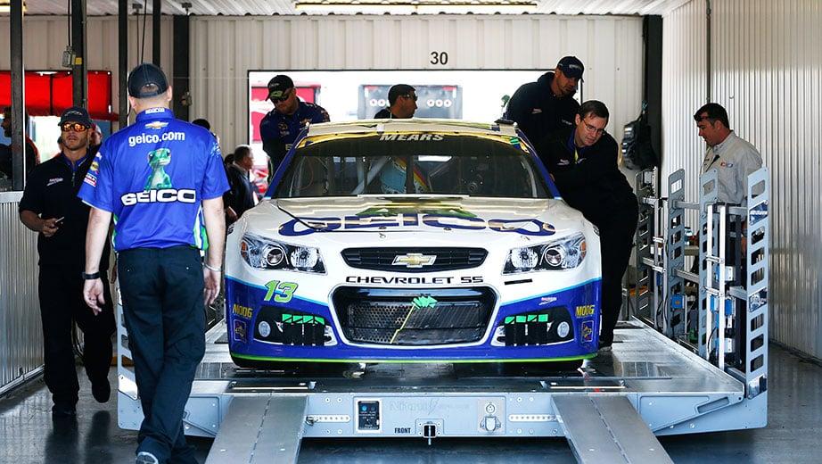 NASCAR has a new inspection process