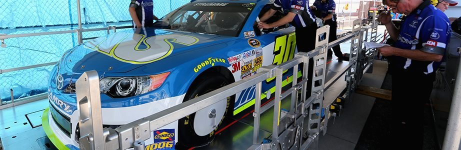 NASCAR has a new pre-race inspection process