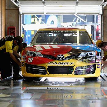 NASCAR inspection process changes