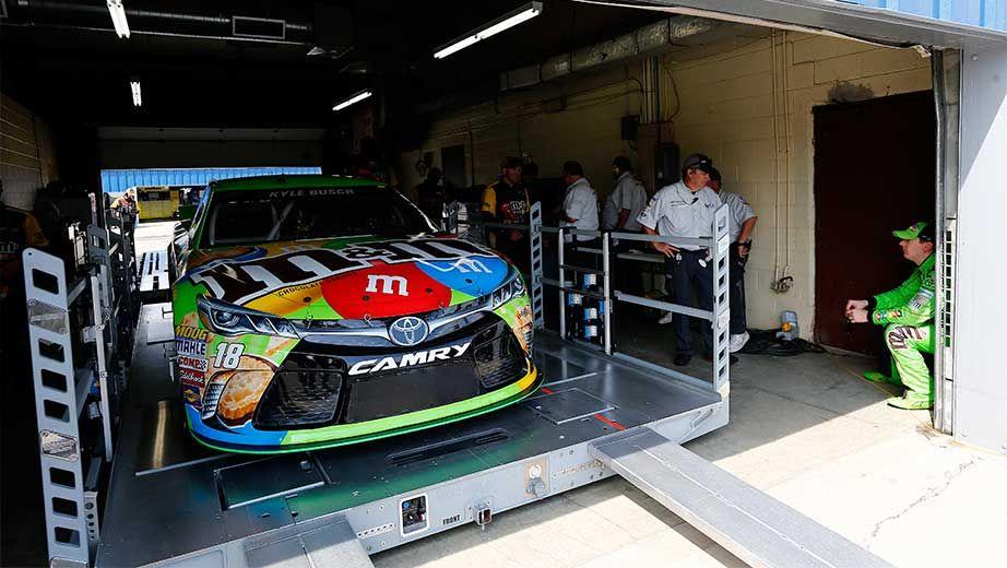 NASCAR pre-race inspection process