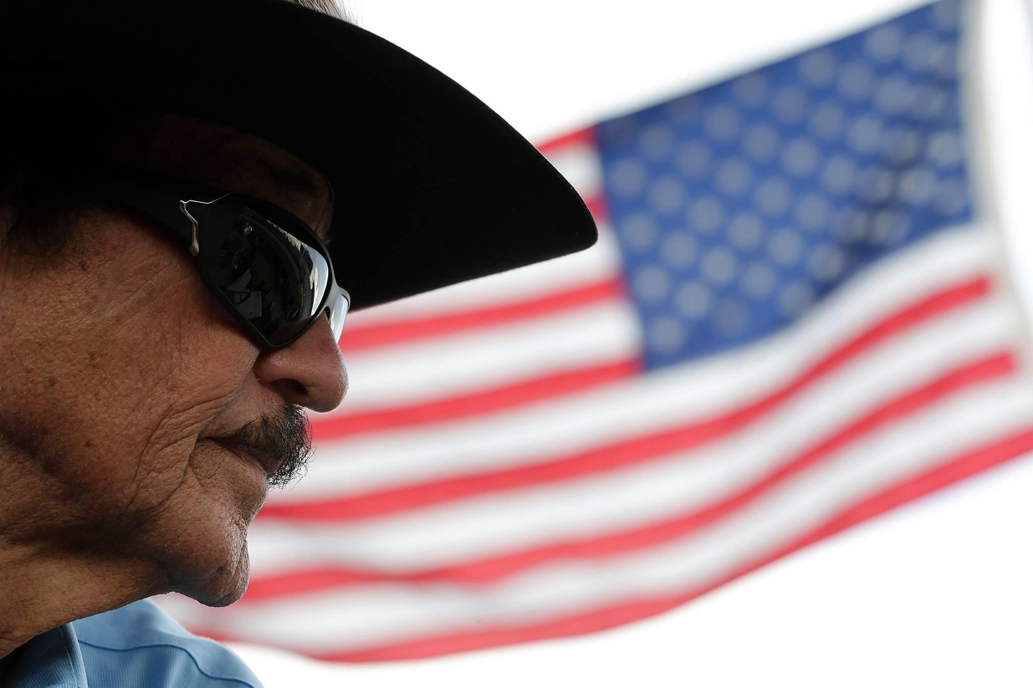 Richard Petty American Flag