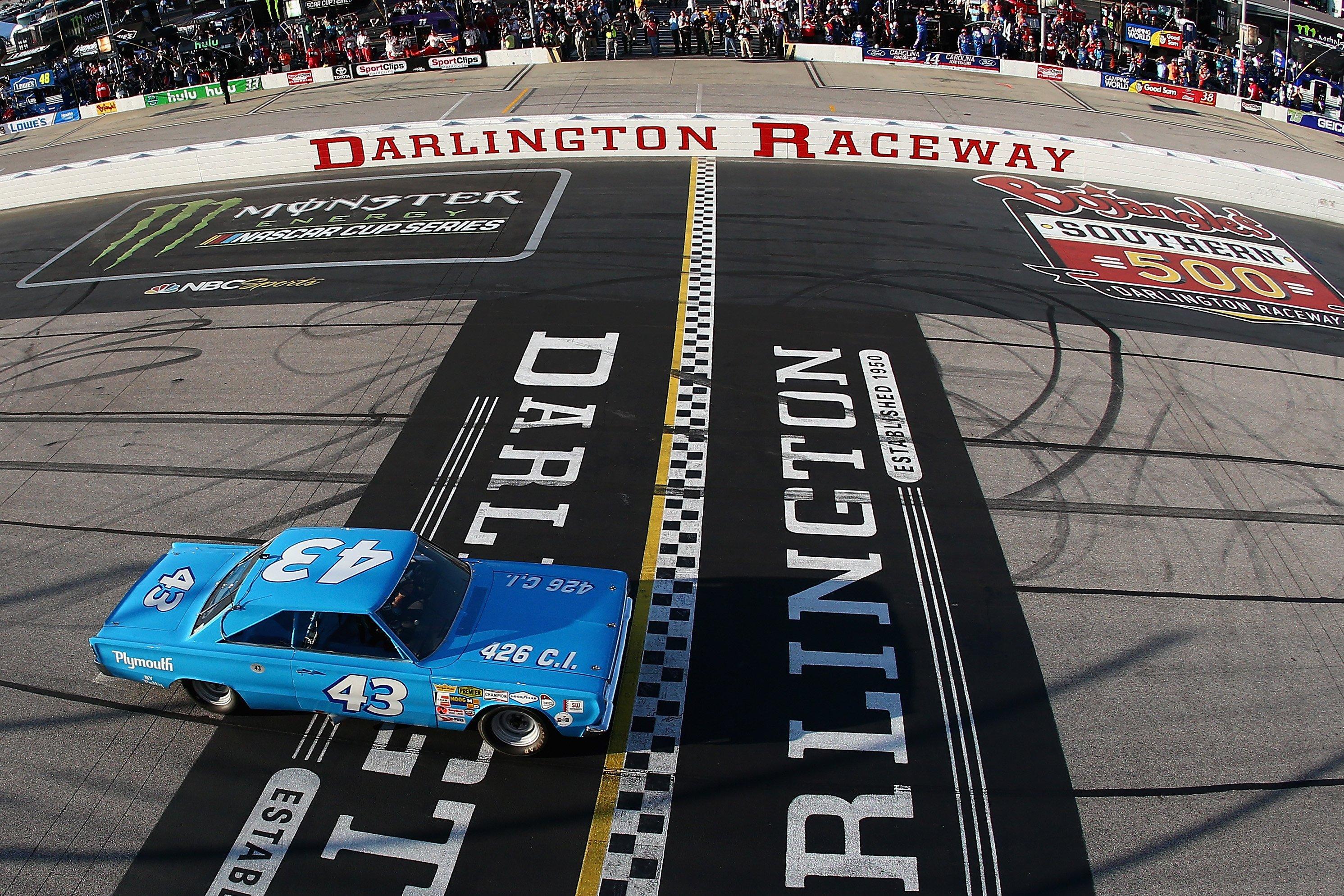 Richard Petty at Darlignton Raceway