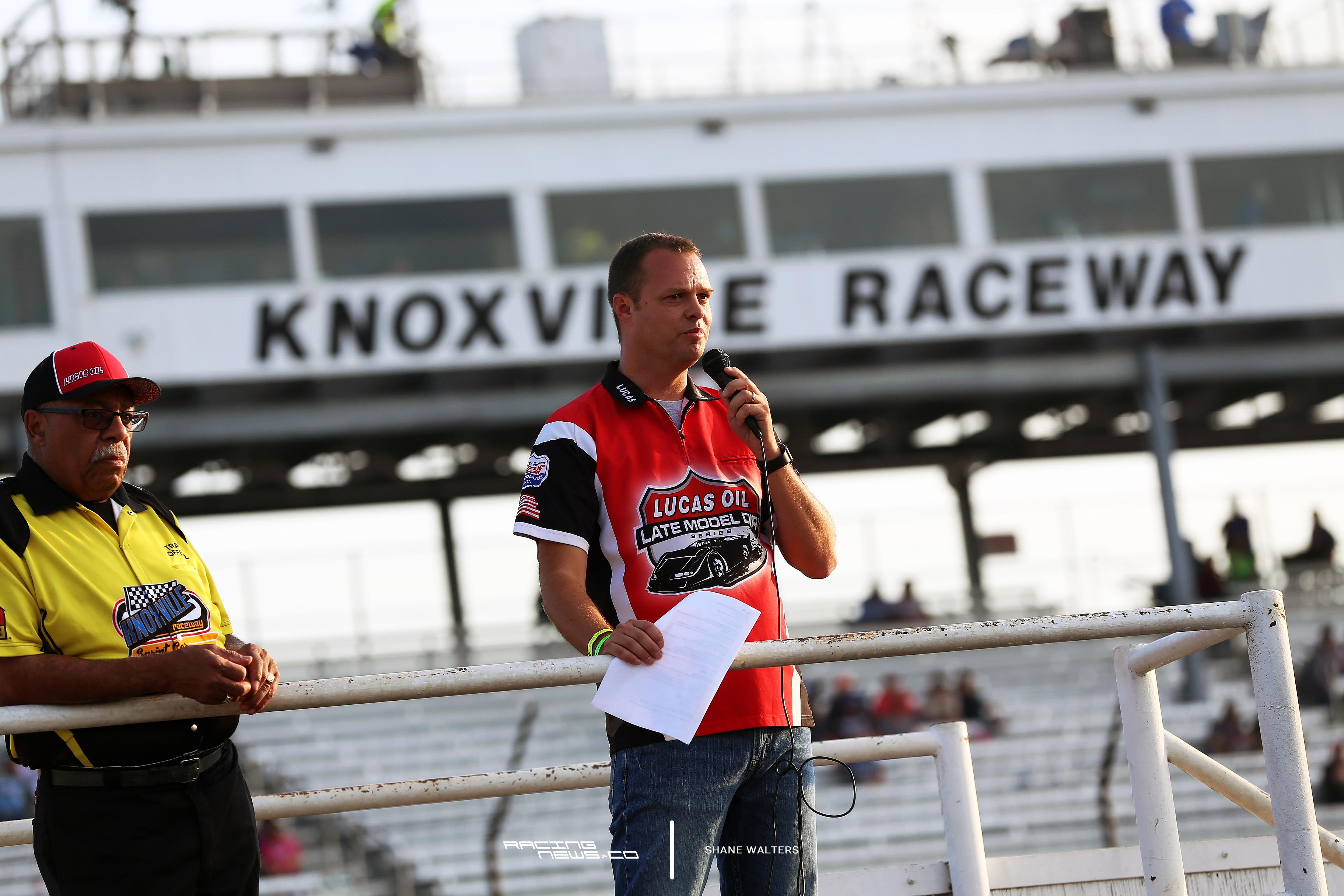 Rick Schwallie at Knoxville Raceway 5928