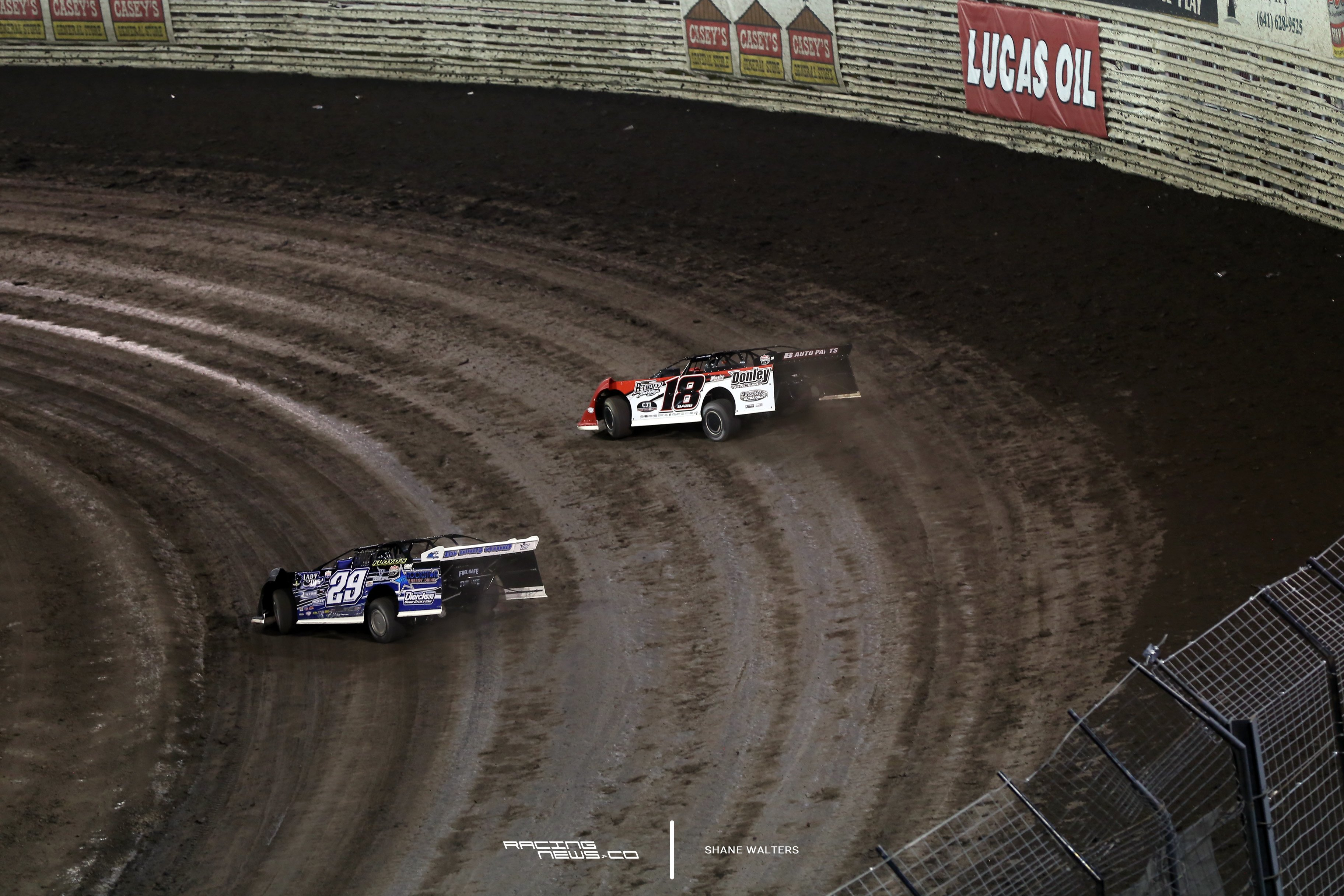 Spencer Dierks at Knoxville Raceway 5594