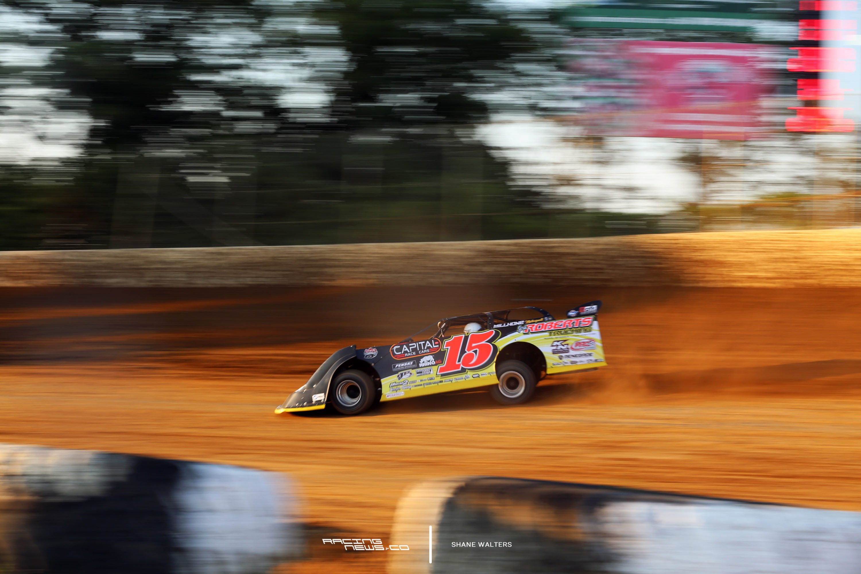 Steve Francis talks dirt late model aerodynamics