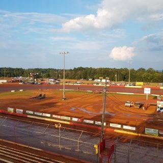 Talladega Short Track used in Trading Paint film