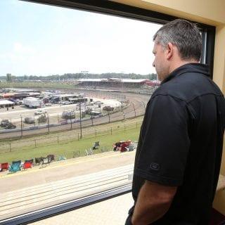 Tony Stewart talks dirt racing