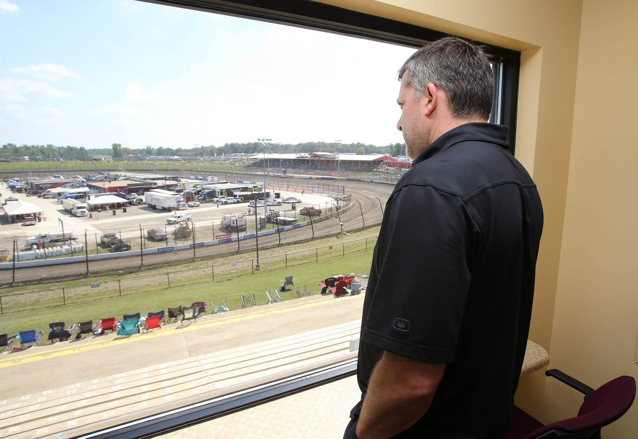 Tony Stewart talks dirt racing
