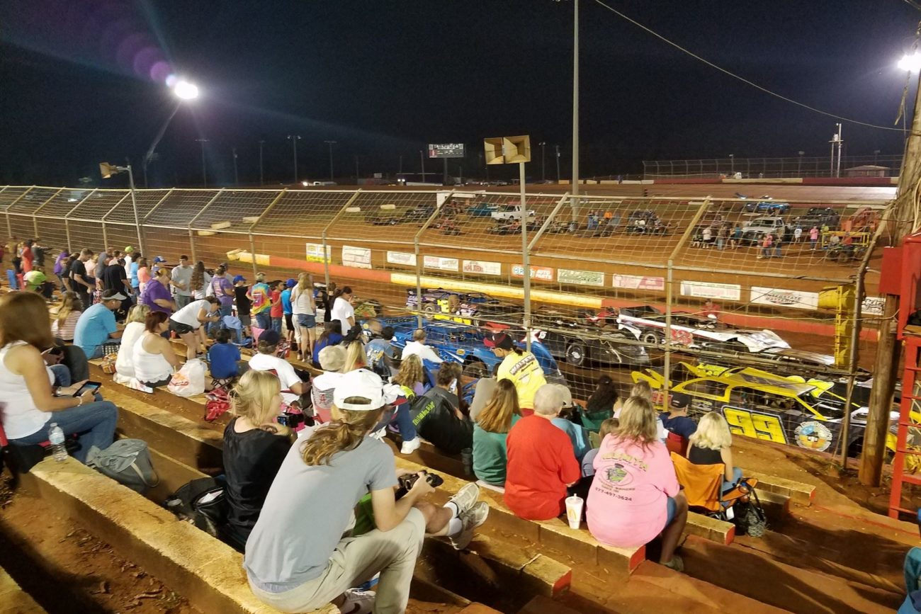 Trading paint filming