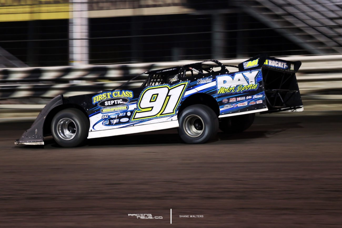 Tyler Erb in the 2017 Late Model Nationals 7450
