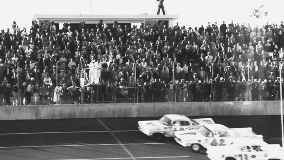1959 Daytona 500 Photo Finish