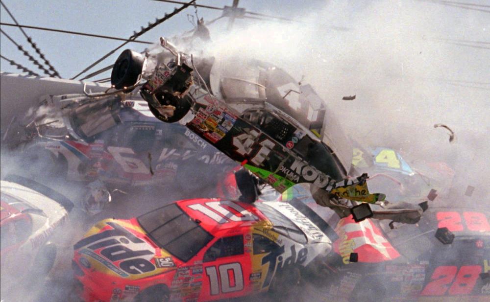 1996 Talladega Crash - Ricky Craven