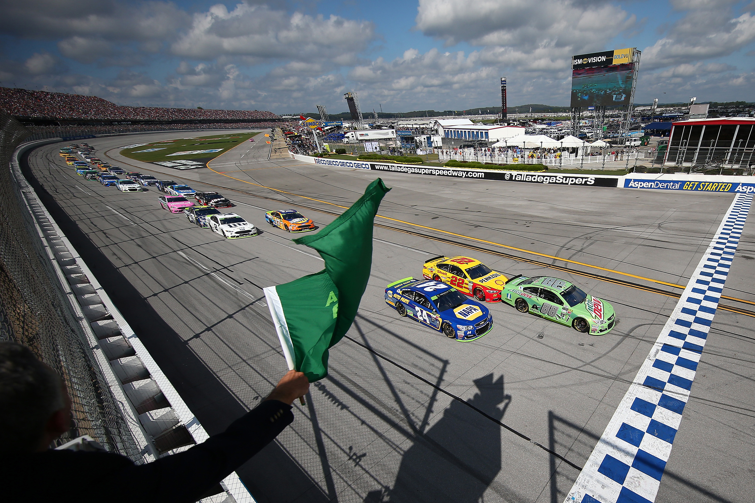 2017 Talladega Superspeedway results - Monster Energy NASCAR Cup Series