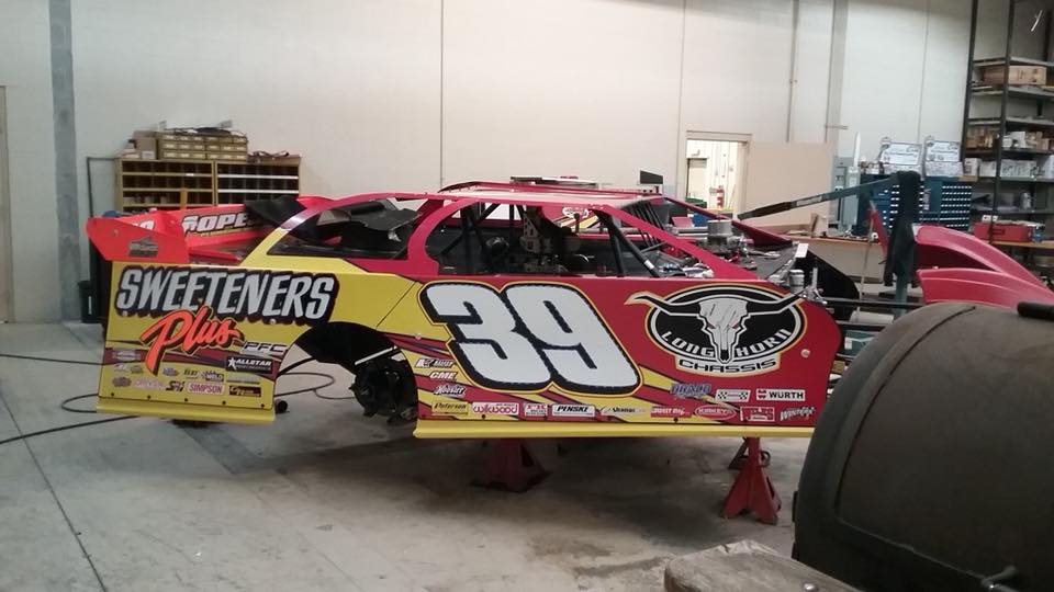 2017 Tim McCreadie dirt late model throwback