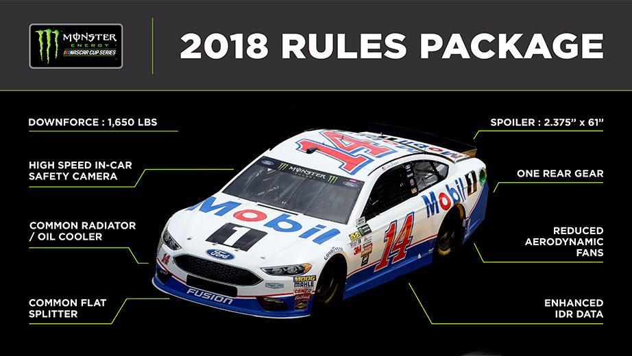 2018 NASCAR rules