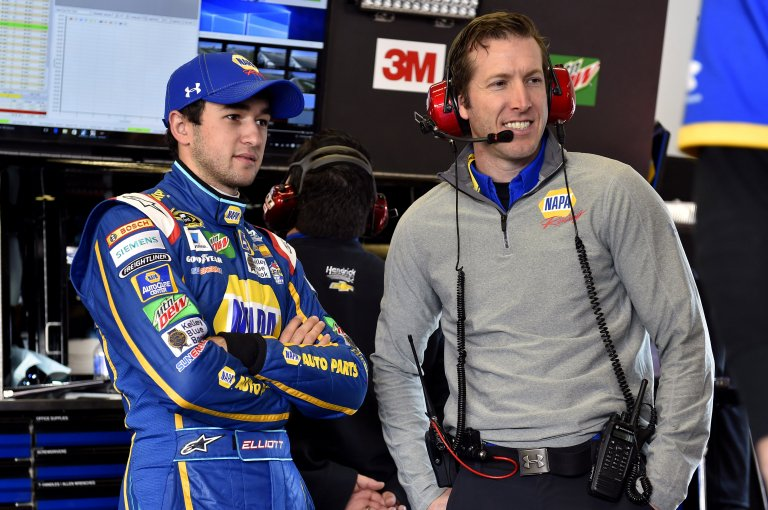 Alan Gustafson and Chase Elliott